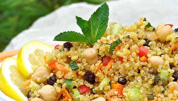 Moroccan And Rollin Quinoa Salad