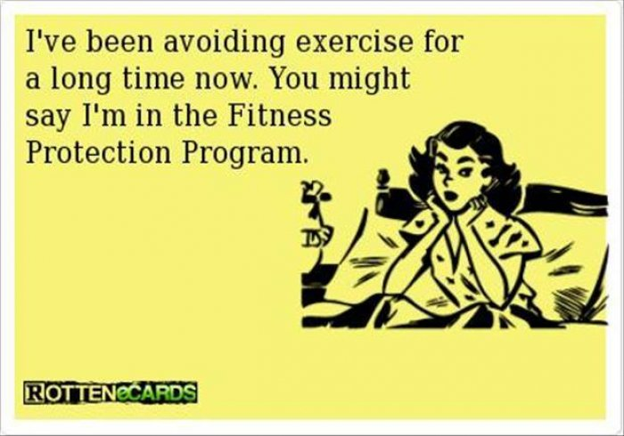 Avoiding Exercise Ecard